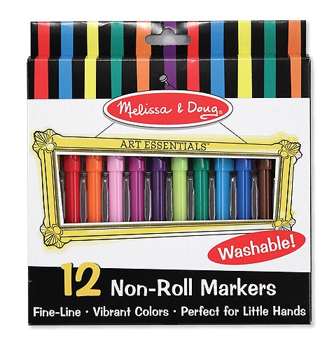 Non Roll Felt Tip Pens