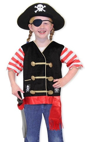 Pirate role play costume