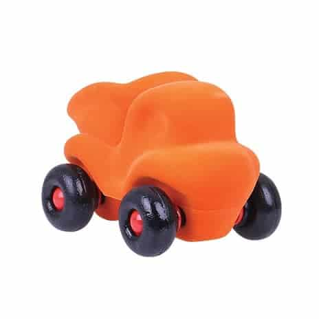 Little Orange Dumper Truck